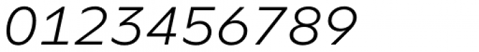 FF Neuwelt Text Light Italic  Font OTHER CHARS