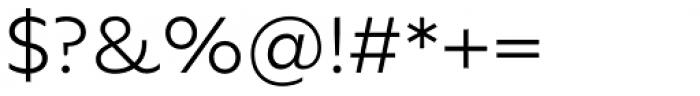 FF Neuwelt Text Light Font OTHER CHARS