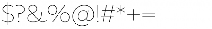 FF Neuwelt Text Thin Font OTHER CHARS