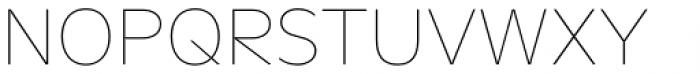 FF Neuwelt Text Thin Font UPPERCASE
