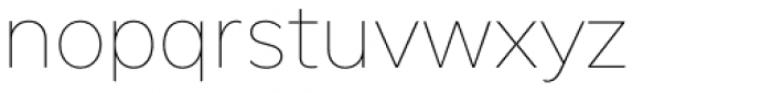 FF Neuwelt Text Thin Font LOWERCASE