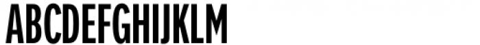 FF Nort Headline Condensed Font UPPERCASE
