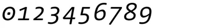 FF Nuvo Mono OT Italic Font OTHER CHARS