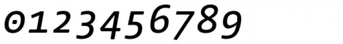 FF Nuvo Mono OT Medium Italic Font OTHER CHARS