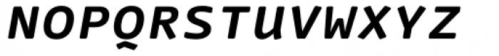 FF Nuvo Mono Pro Bold Italic SC Font LOWERCASE