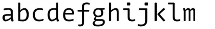 FF Nuvo Mono Pro Font LOWERCASE