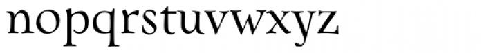 FF Oneleigh OT Font LOWERCASE