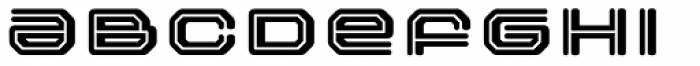FF Outlander Binary Font UPPERCASE