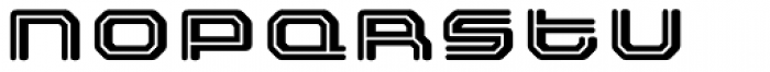 FF Outlander Binary Font LOWERCASE