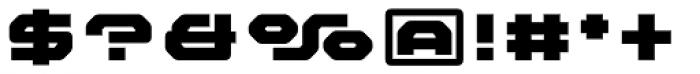 FF Outlander Black Font OTHER CHARS