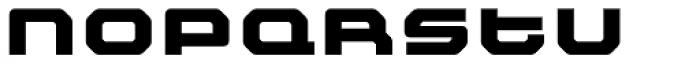 FF Outlander Black Font LOWERCASE