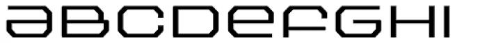 FF Outlander Light Font LOWERCASE