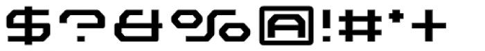 FF Outlander Medium Font OTHER CHARS