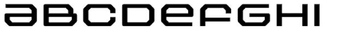 FF Outlander Medium Font LOWERCASE