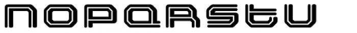 FF Outlander Std Binary Font LOWERCASE