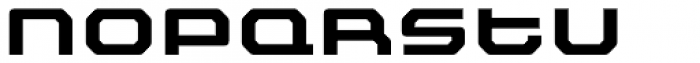 FF Outlander Std Bold Font UPPERCASE