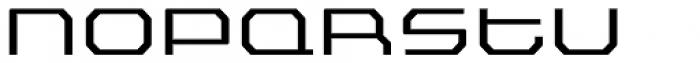 FF Outlander Std Light Font UPPERCASE