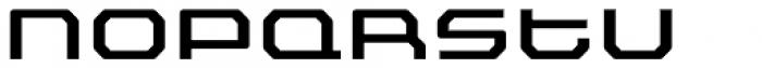 FF Outlander Std Medium Font UPPERCASE