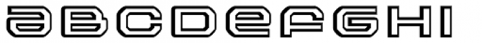 FF Outlander Std White Font LOWERCASE