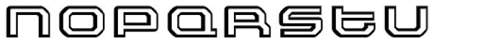 FF Outlander White Font LOWERCASE
