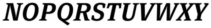 FF Page Serif OT Demi Italic Font UPPERCASE