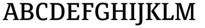 FF Page Serif OT Font UPPERCASE