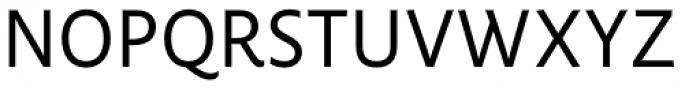 FF Pastoral Regular Font UPPERCASE
