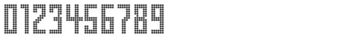 FF Pop LED OT Regular Font OTHER CHARS