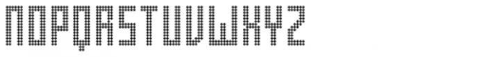 FF Pop LED OT Regular Font UPPERCASE