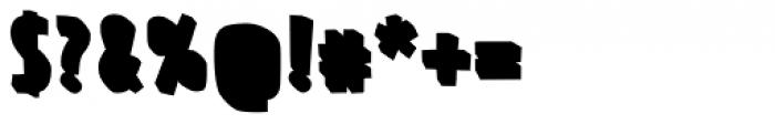 FF Prater Block Background Pro Regular Font OTHER CHARS
