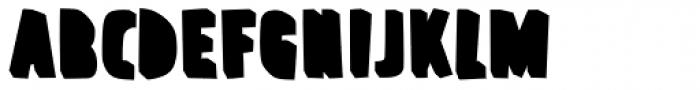 FF Prater Block Background Pro Regular Font UPPERCASE