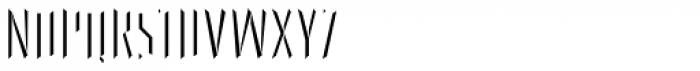FF Primary Stone Left Font UPPERCASE