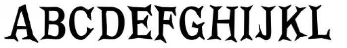 FF Priska Serif Not That Fat Font UPPERCASE