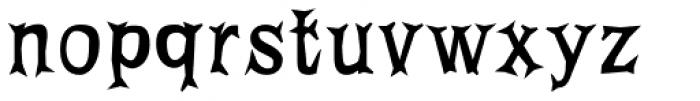 FF Priska Serif Not That Fat Font LOWERCASE