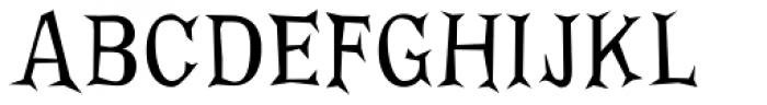 FF Priska Serif Regular Font UPPERCASE