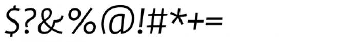 FF Profile OT Light Italic Font OTHER CHARS