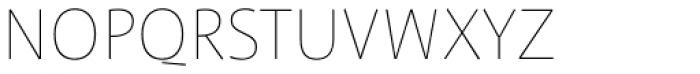 FF Profile OT Thin Font UPPERCASE