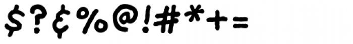 FF Providence Sans Pro Bold Font OTHER CHARS