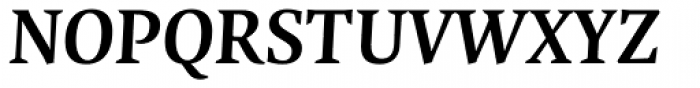 FF Quadraat OT Bold Italic Font UPPERCASE