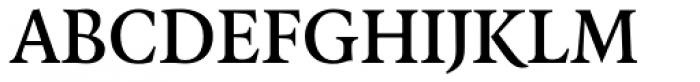 FF Quadraat OT DemiBold Font UPPERCASE