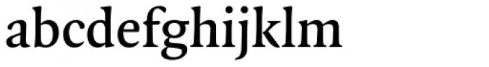 FF Quadraat Pro DemiBold Font LOWERCASE