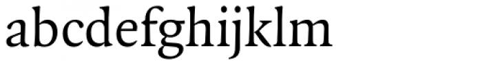 FF Quadraat Pro Font LOWERCASE