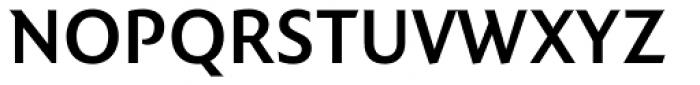FF Quadraat Sans OT DemiBold Font UPPERCASE