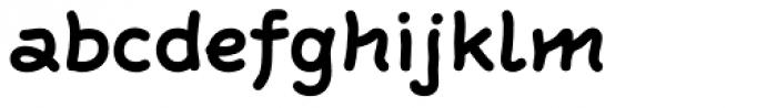 FF Rattlescript OT Bold Font LOWERCASE