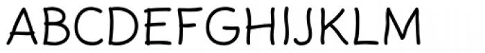 FF Rattlescript OT Light Font UPPERCASE