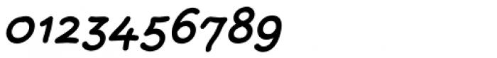 FF Rattlescript OT Medium Oblique Font OTHER CHARS