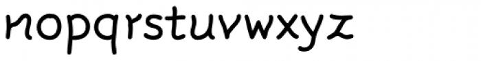 FF Rattlescript OT Font LOWERCASE