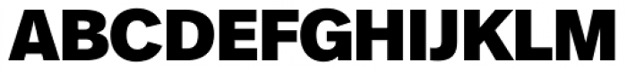 FF Real Head Pro Black Font UPPERCASE