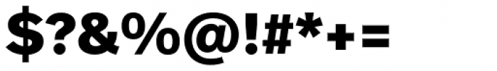 FF Real Head Pro ExtraBold Font OTHER CHARS