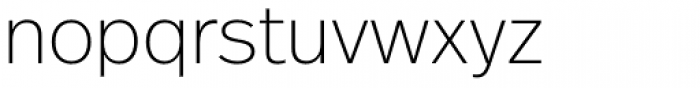 FF Real Head Pro ExtraLight Font LOWERCASE